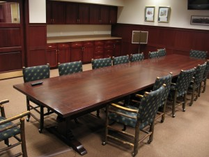 conference room at pln